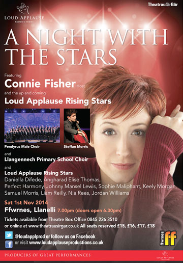 A night with the stars - connie fisher