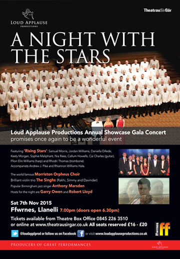 A Night with the stars 2015
