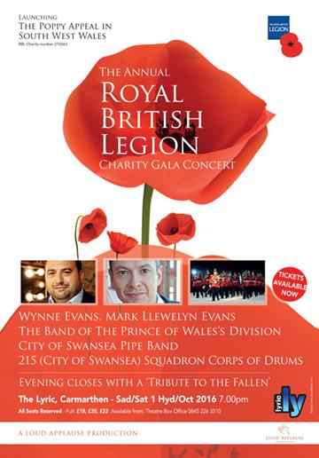 British Legion Concert 2016