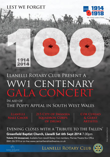 WW1 Centenary Concert