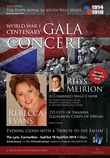 British Legion Concert 2014