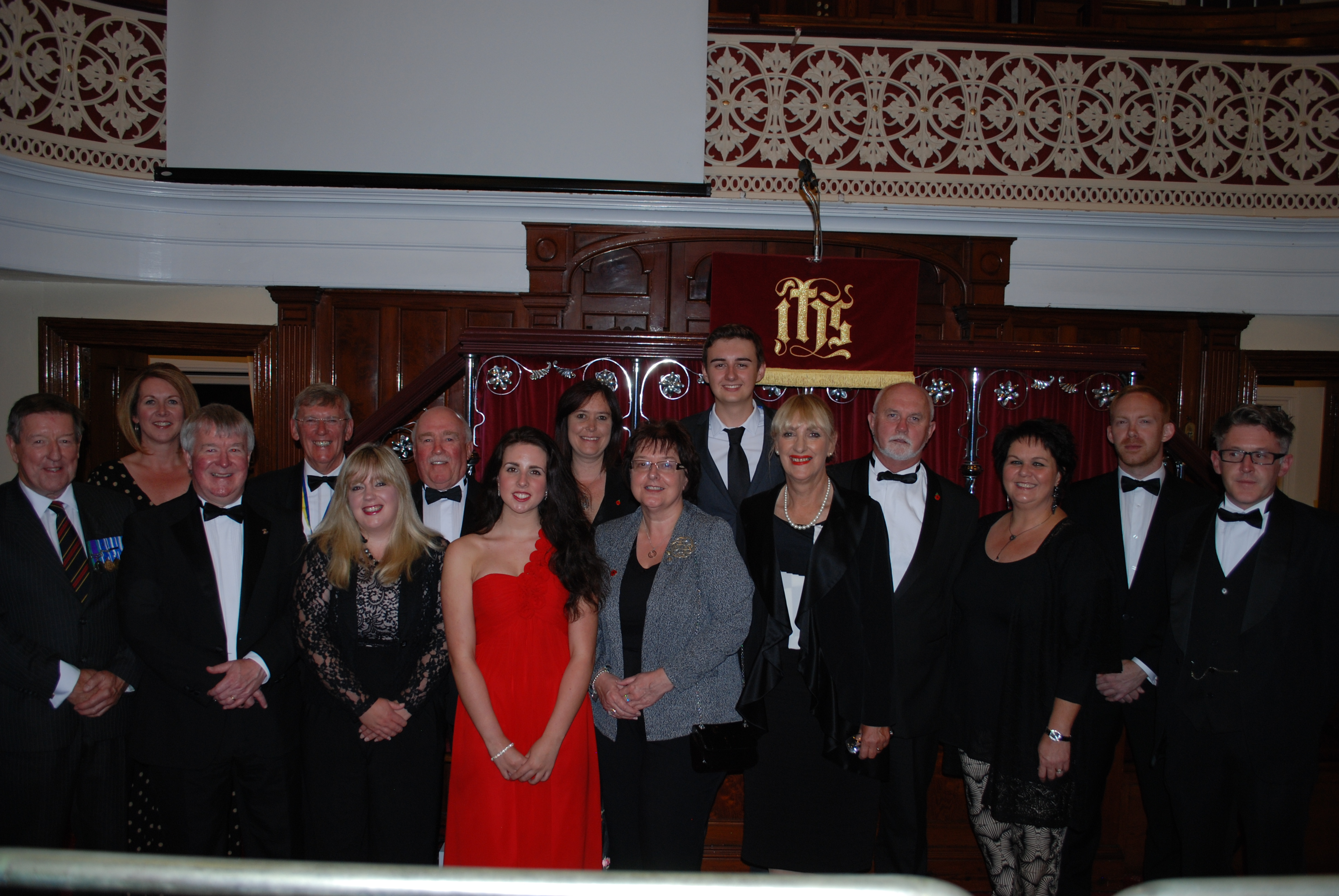 Rotary Artists and members of Llanelli Rotary Club
