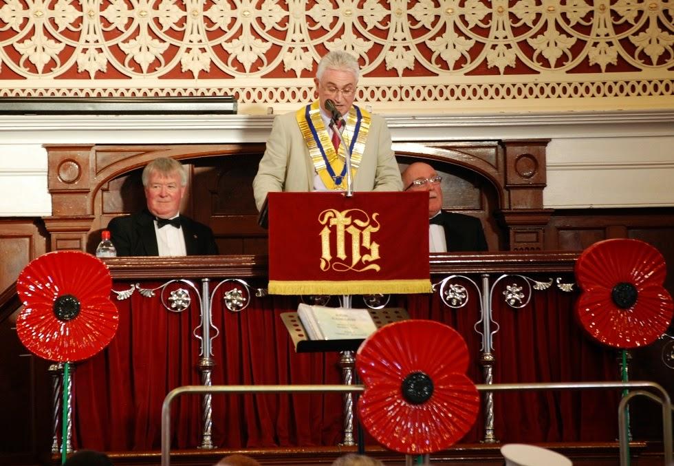 Rotary - Hywel Bassett  - President of Llanelli Rotary Club